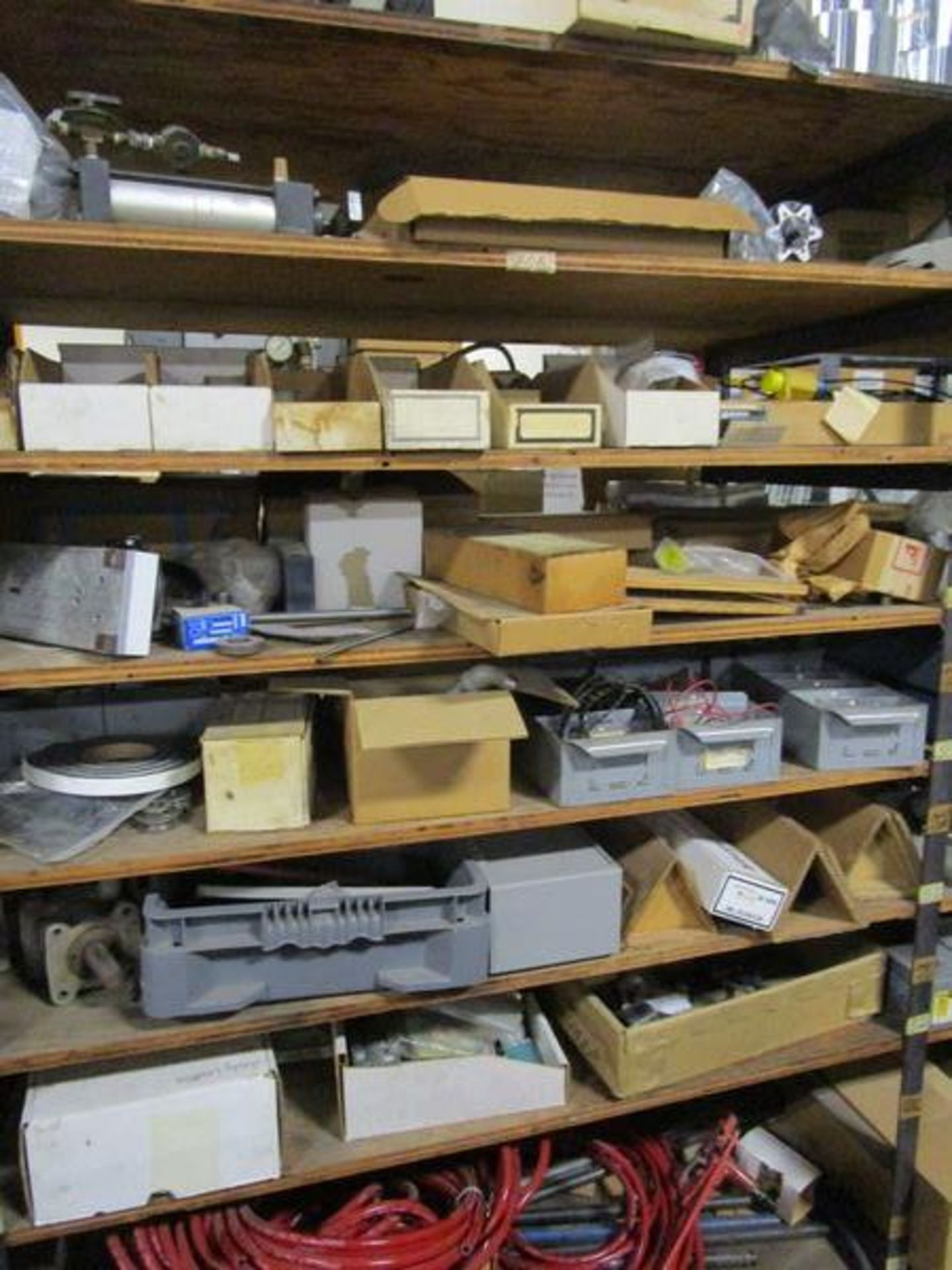 Lot Meters, Electrical Supplies, Wire, Components, Pins, Gages, Solderer, Etc. in 4 Sections - Image 4 of 5