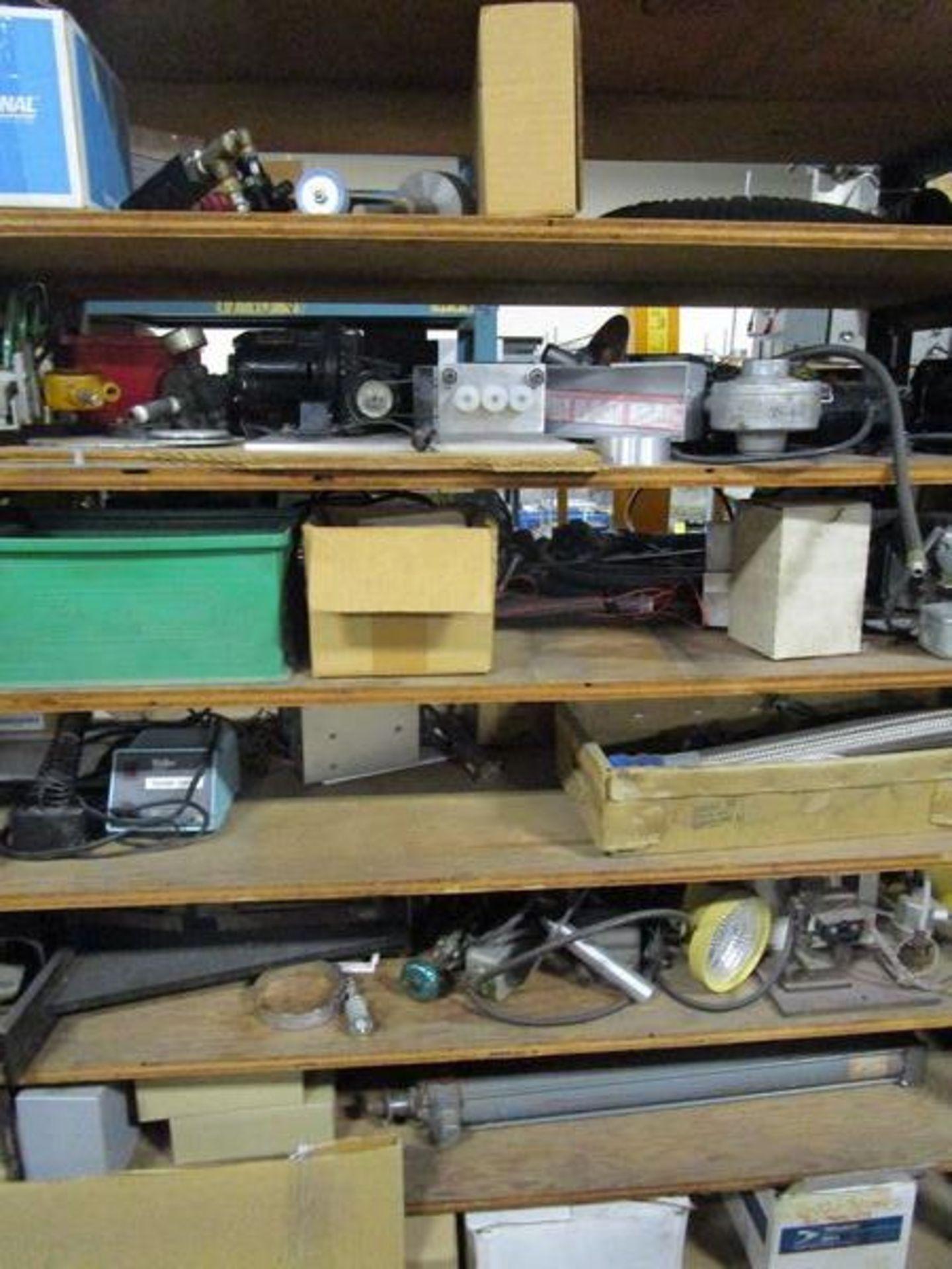 Lot Meters, Electrical Supplies, Wire, Components, Pins, Gages, Solderer, Etc. in 4 Sections - Image 3 of 5