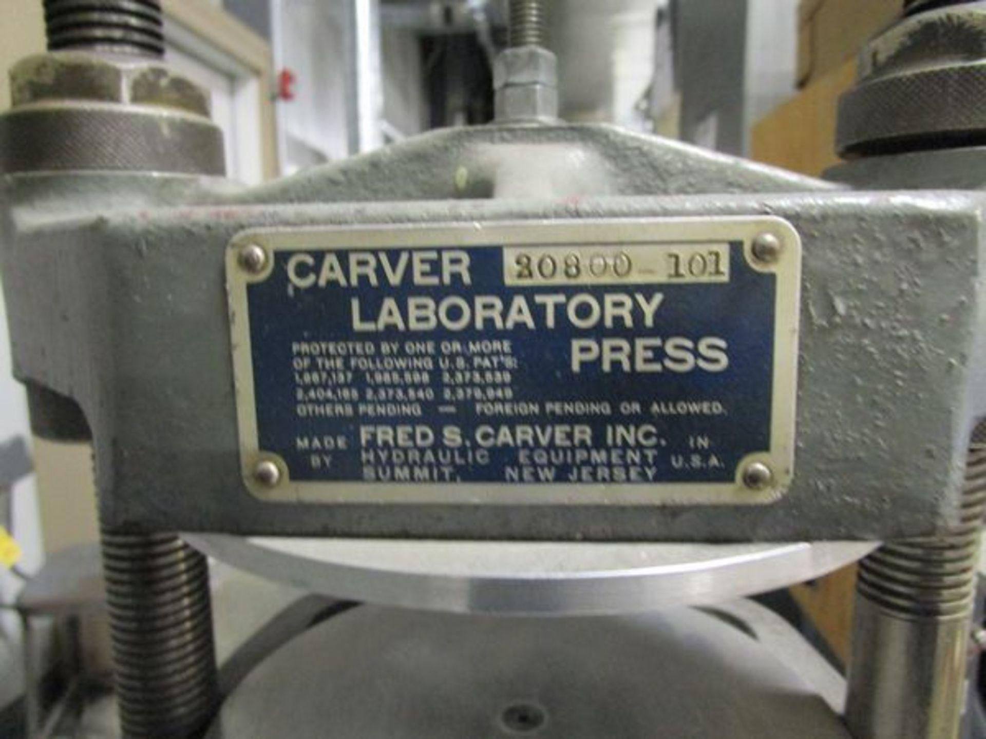 Carver 20800-101 Laboratory Press - Image 2 of 2