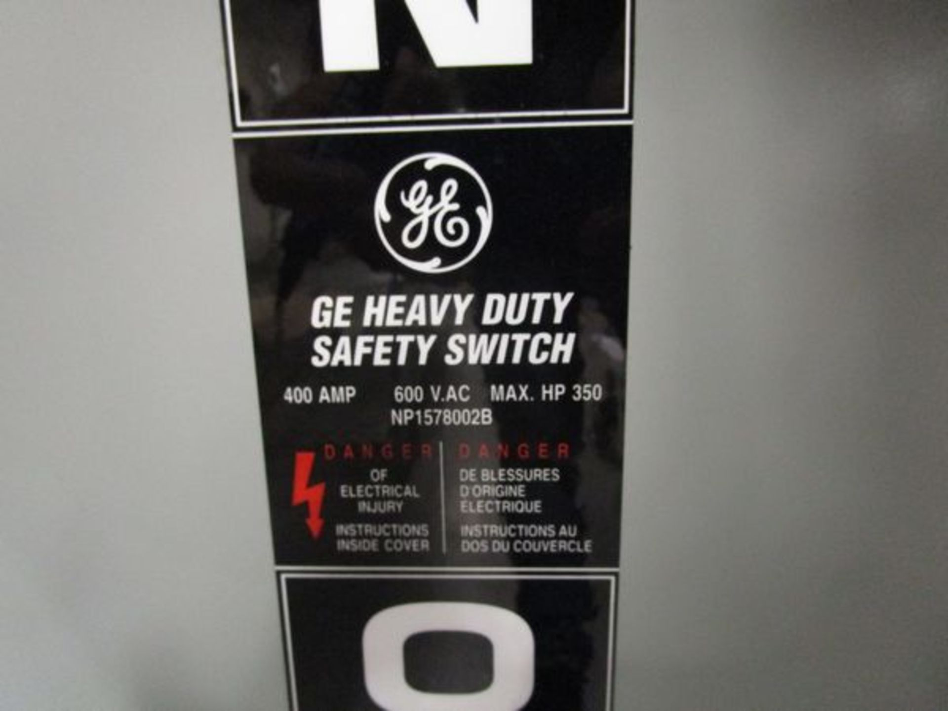 Lot GE HD Safety Switch, Acme T-252703-1 Autotransformer, Acme T-2A-52717-1 Transformer - Image 3 of 6
