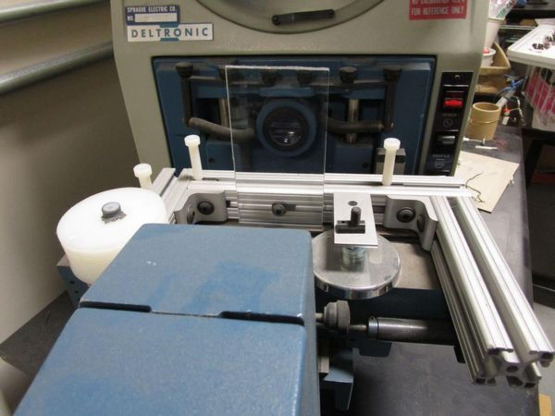 "Deltronics Imagemaster 330A-DEC Optical Comparator s/n S180908, 13"", Heidenhain Control - Image 4 of 5"