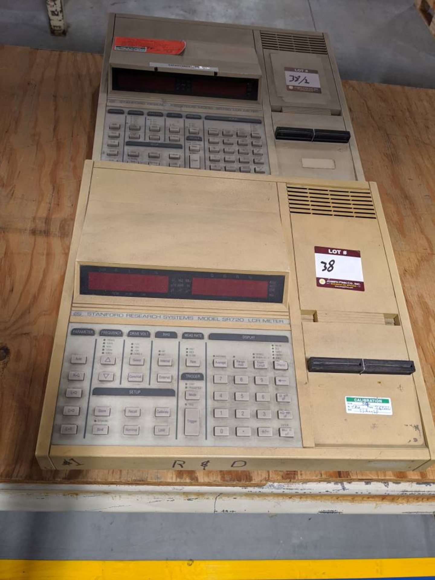 (2) Stanford Research SR720 LCR Meters