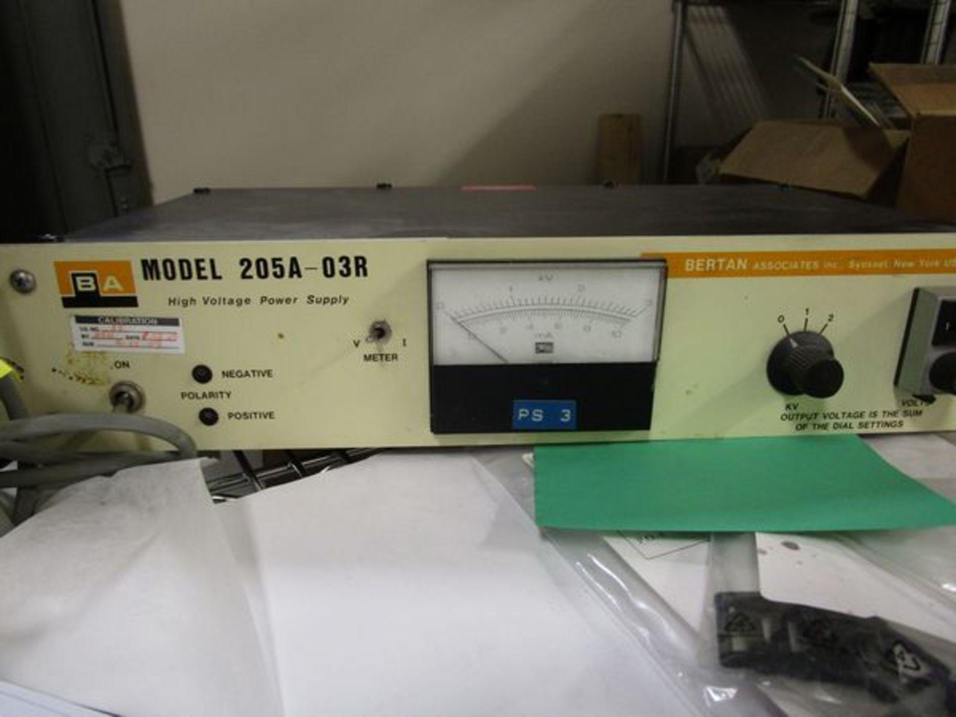 Bertan 205A-03R High Voltage Power Supply