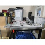2011 Exact Linear Dispensing System, X-Y Table, Fishman LDS 9000 Control, Timer