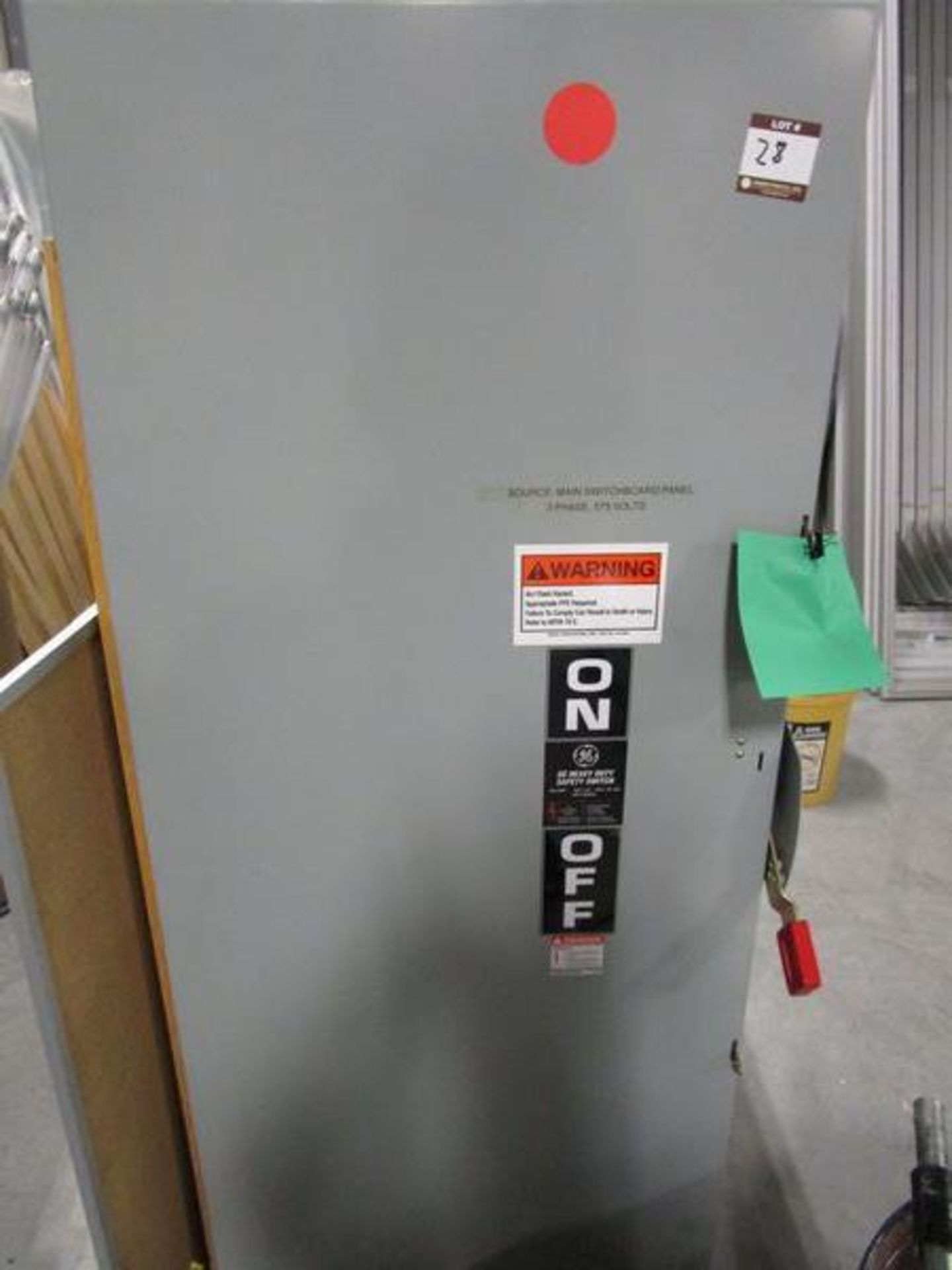 Lot GE HD Safety Switch, Acme T-252703-1 Autotransformer, Acme T-2A-52717-1 Transformer - Image 2 of 6