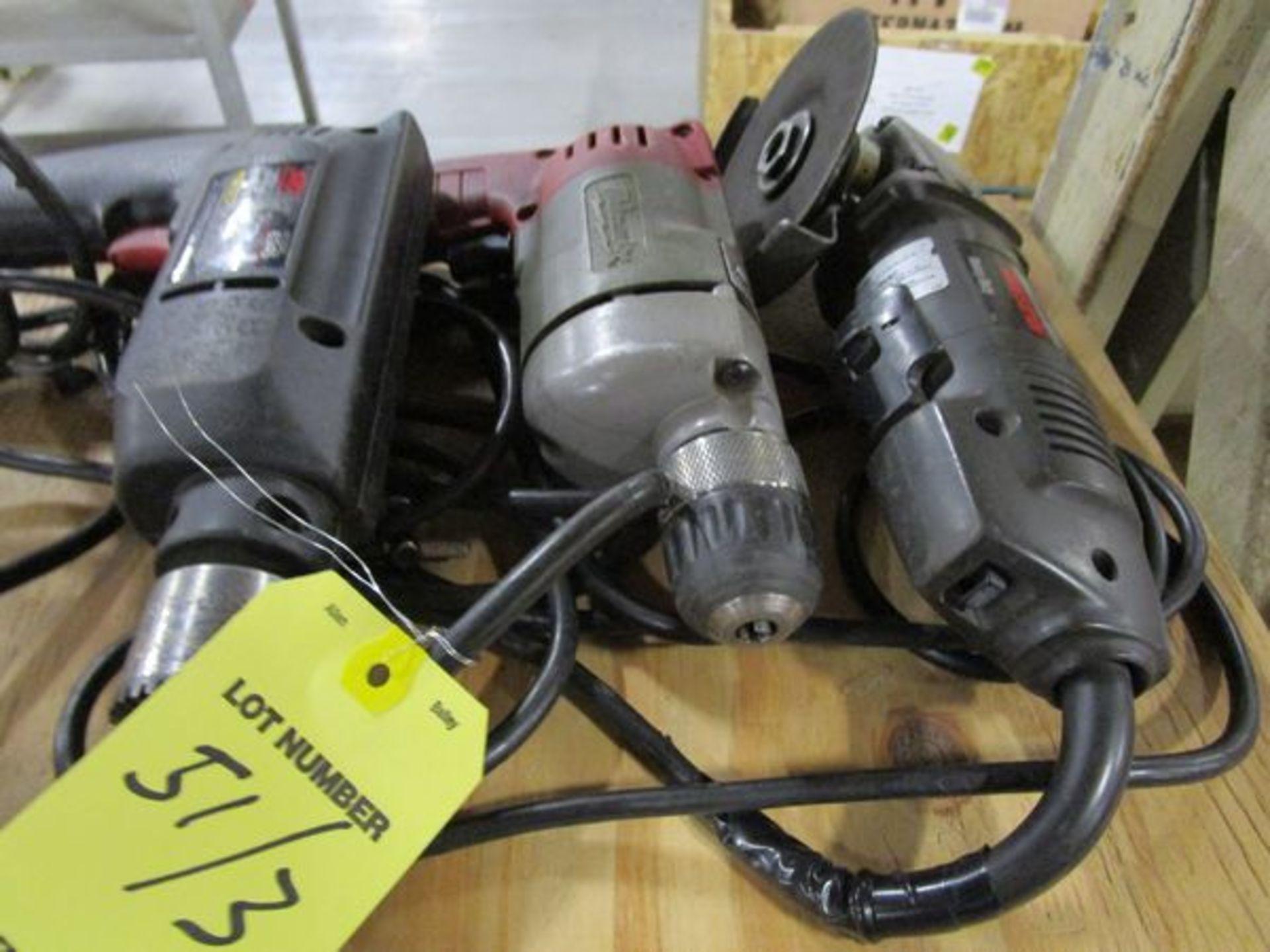 (2) Electric Drills & Sander