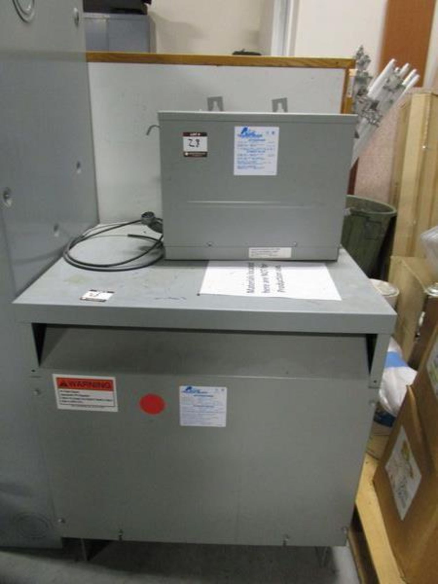 Lot GE HD Safety Switch, Acme T-252703-1 Autotransformer, Acme T-2A-52717-1 Transformer - Image 4 of 6