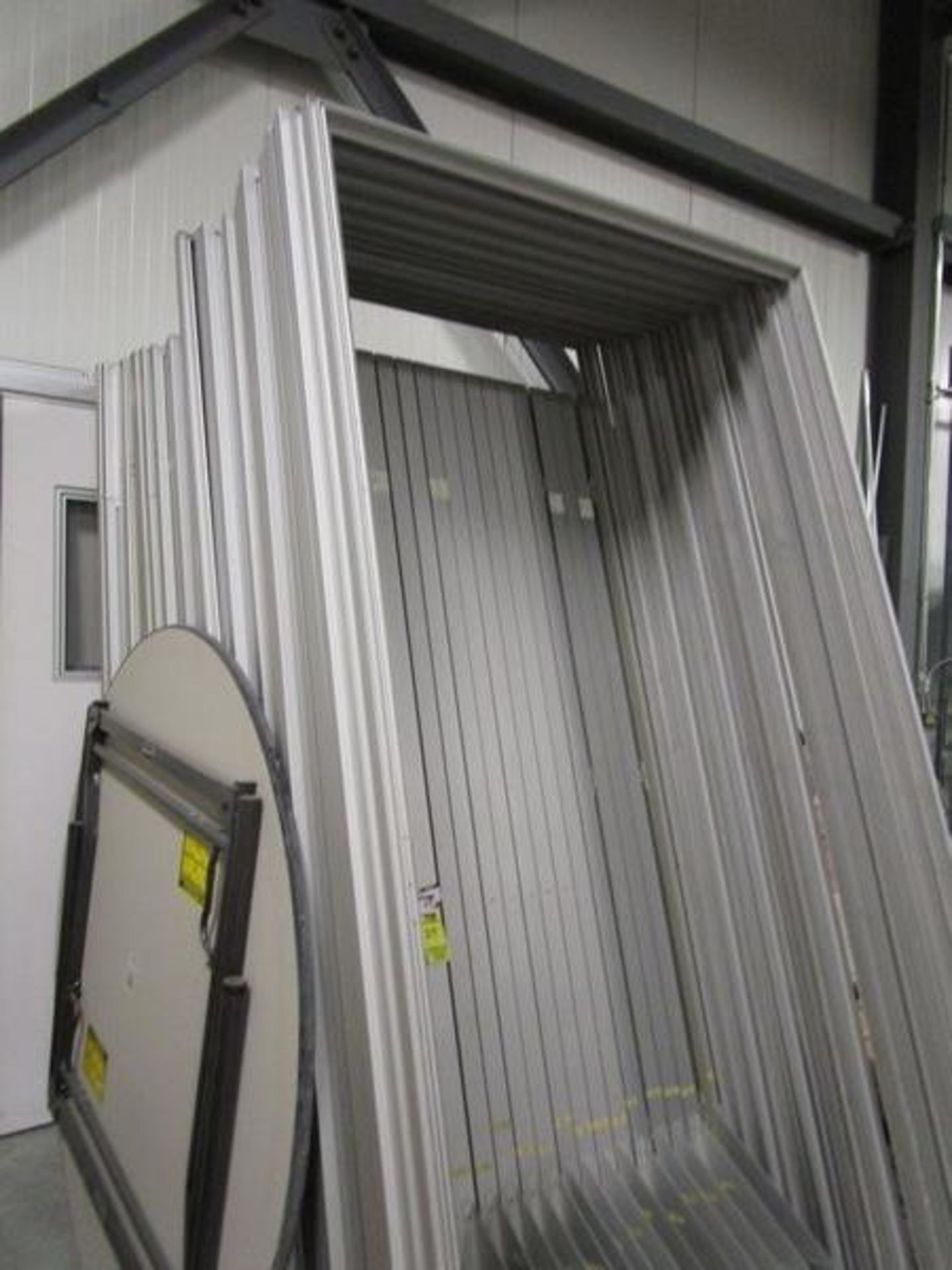 Terra Universal 16'W x 44'L x 8'H Custom Cleanroom, Hardwall, Acrylic, External Mount Pads, Class - Image 2 of 8