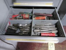 LOT Asst. Large Taps & Reamers in (1) Drawer