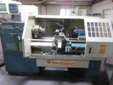 1994 Bridgeport EZ Path CNC Lathe S/N 077930-325, Bridgeport Control, Chuck, Tailstock, Quick Change