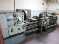"Profitmaster 17"" x 80"" Gap Bed Lathe S/N CL 400 2000 6306, 16"" 4 Jaw Chuck, 4 Way Toolpost,"