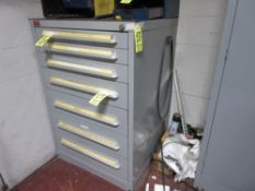 Lyon 7-Drawer Parts Cabinet w/Drills & Heli Coil Parts