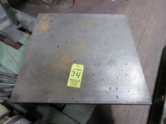 2' x 2' Steel Platform