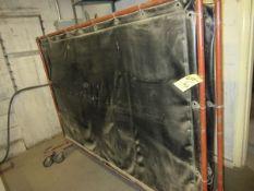 Lot (5) Asst. Welding Curtains