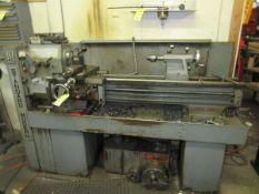 "Standard-Modern 13"" x 40"" Toolroom Lathe s/n 7144, w/ Aloris Tool Post, (8) Tool Holders, Collets,"