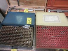 Lot (1) Vermont Pin Gage Set 250-061, (1) Meyers Pin Gage Set .277-.500