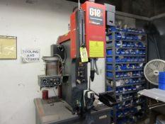 "2002 Haeger 618 Plus Fastener Insertion System Positive Stop, 6 Ton, 18"" Throat, S/N 6PL20524,"