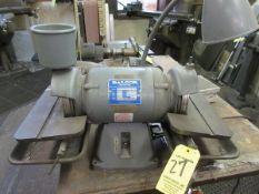 Baldor .5 HP, D.E. Bench Grinder