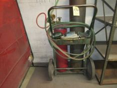 Oxy-Acet Cart w/ Hose & Gages (No Tanks)