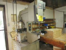 Haeger 824 Fastener Insertion System, S/N 943, Positive Stop, Auto Feed, Tooling (New Shaft)