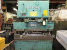 "Wysong 48"" Press Brake s/n PB36-312, Auto gage CNC 99 Control"
