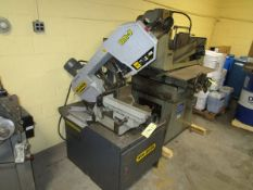 MEP Hyd-Mech DM-8 Horiz. Band Saw, s/n WM1104100, 10.8 HP