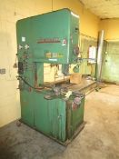 """Powermatic Mod. 26 Vert. 26"""" Band Saw, s/n 4-113, Blade Weld Attachment"""
