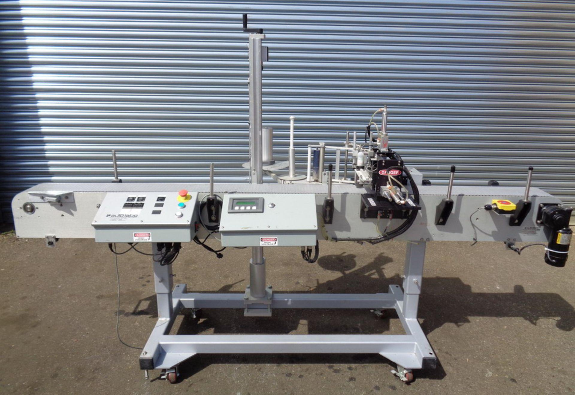 Lot 99 - AutoLabe Single Head Pressure Sensitive Labeler, Model 620, S/N 070481