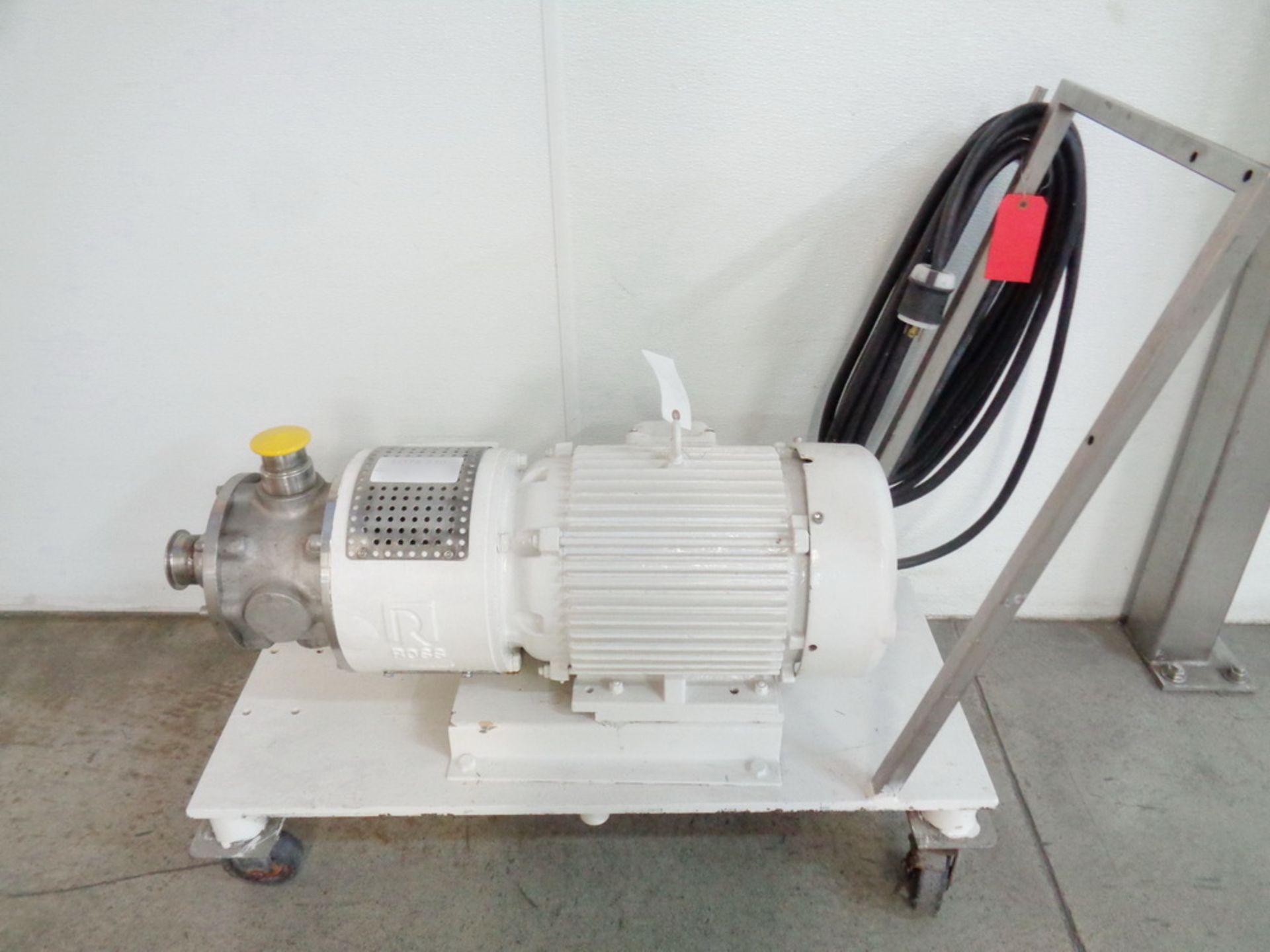 Lot 131 - Ross 20HP Pipeline Mixer-Rotor/Stator Type