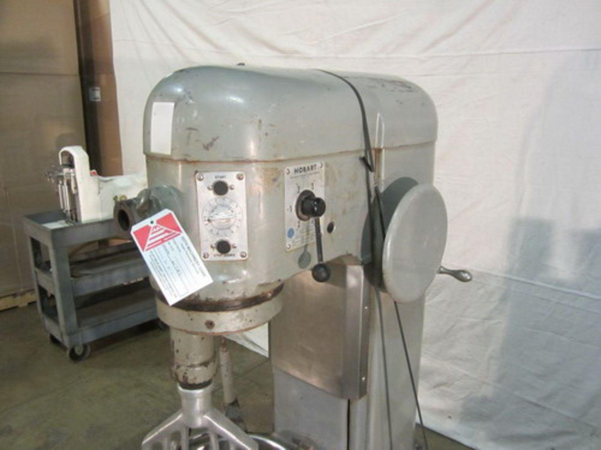 Lot 101 - Hobart 60 quart Stainless Steel Planetary Mixer, Model H-600T