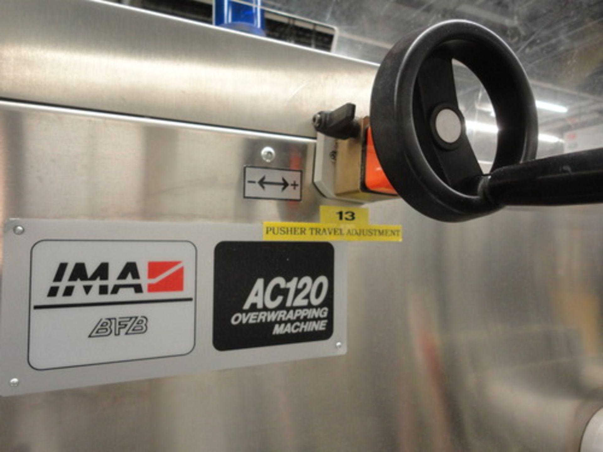 Lot 14 - IMA/BFB Carton Overwrapping Machine, Model AC120, S/N 5149