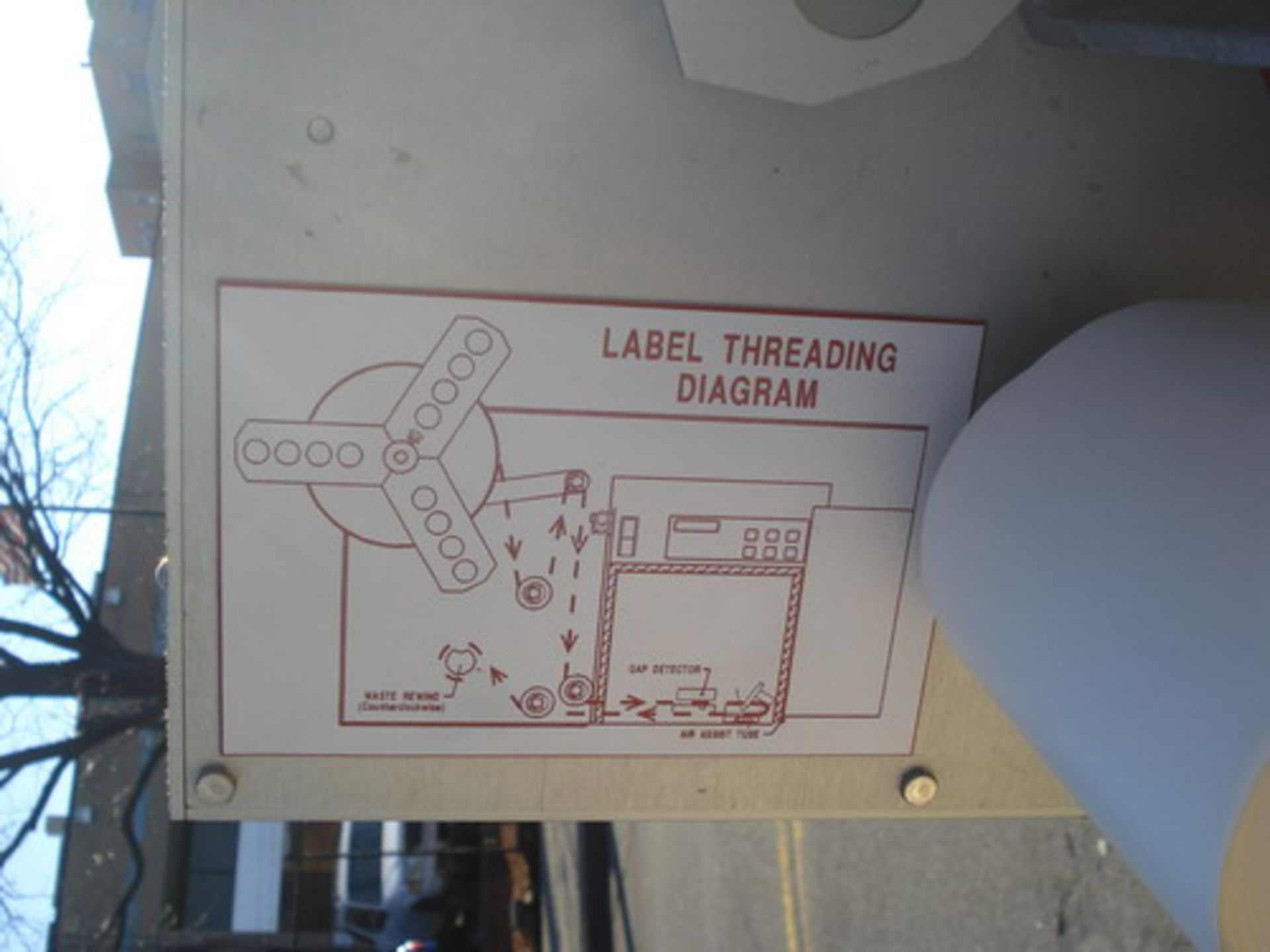 Lot 156 - Lord Label Systems Pressure Sensitive Print & Apply Labeler
