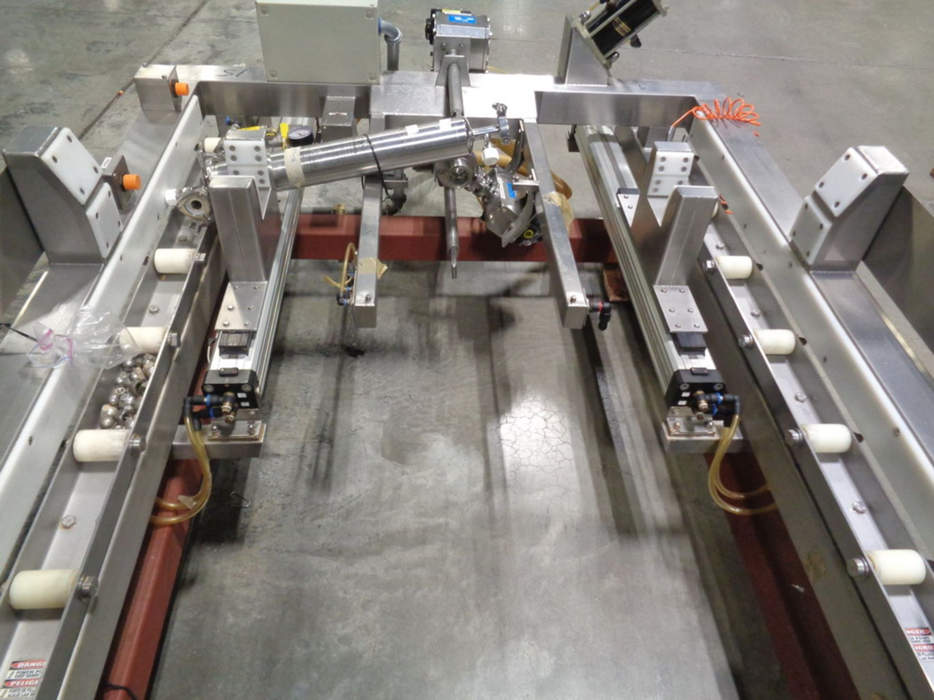 Lot 201 - Tote Systems Stainless Steel Tote Docking and Discharge Station