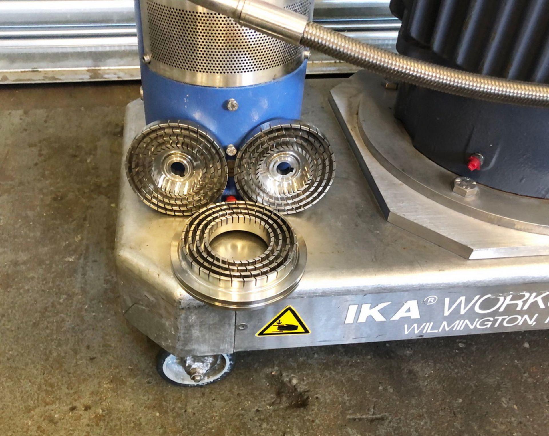 Lot 25 - IKA Dispax 10HP High Shear Inline Mixer, Type DR2000/05