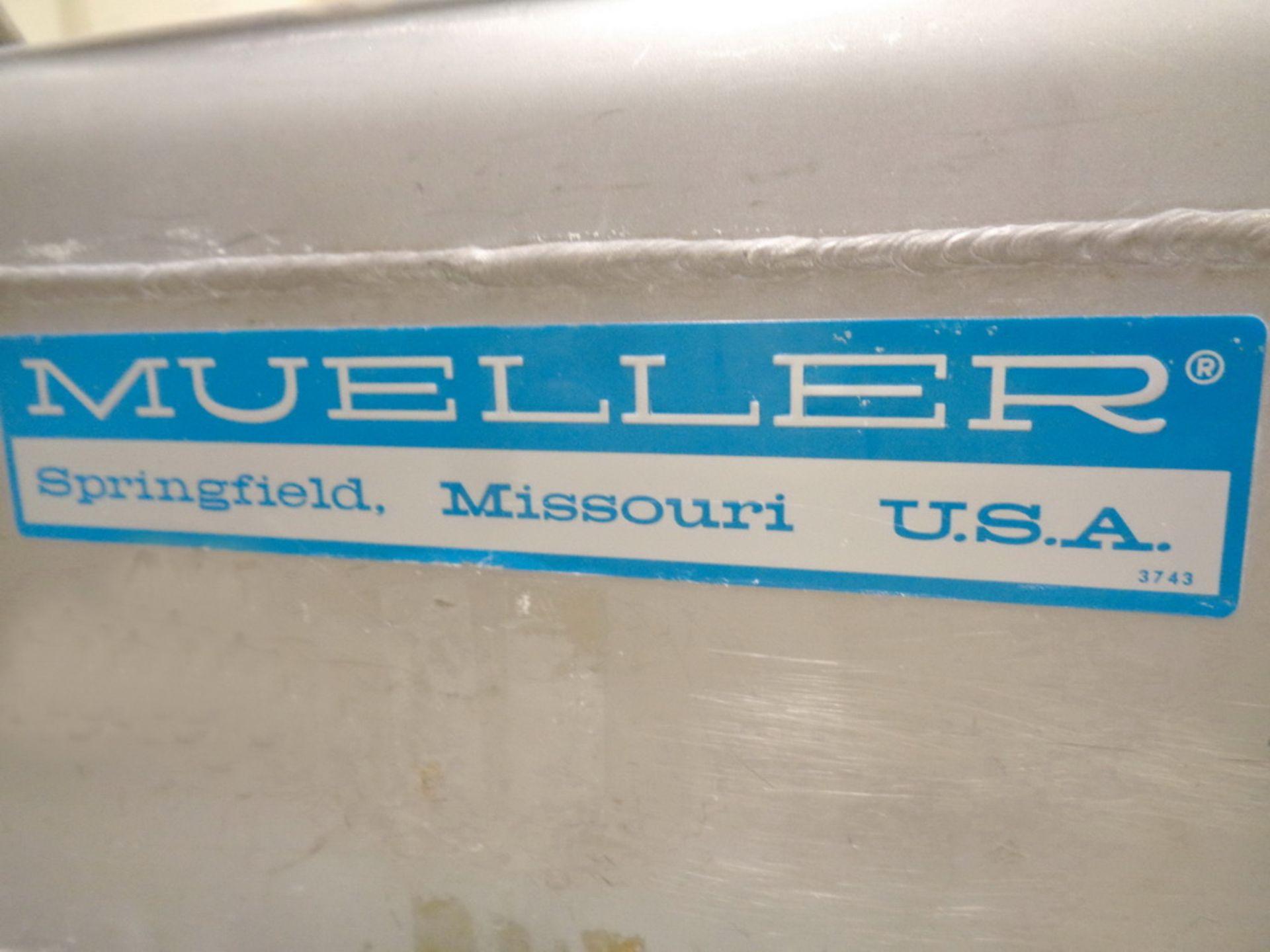 Lot 212 - Mueller Rectangular Stainless Steel Portable Powder Totes