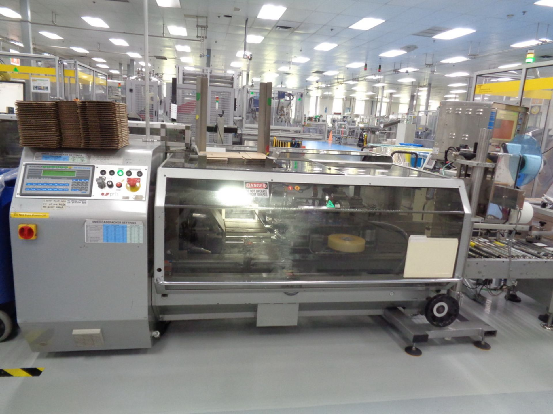 Lot 15 - PRB SMED Case Packer, Model New Pocket 930276