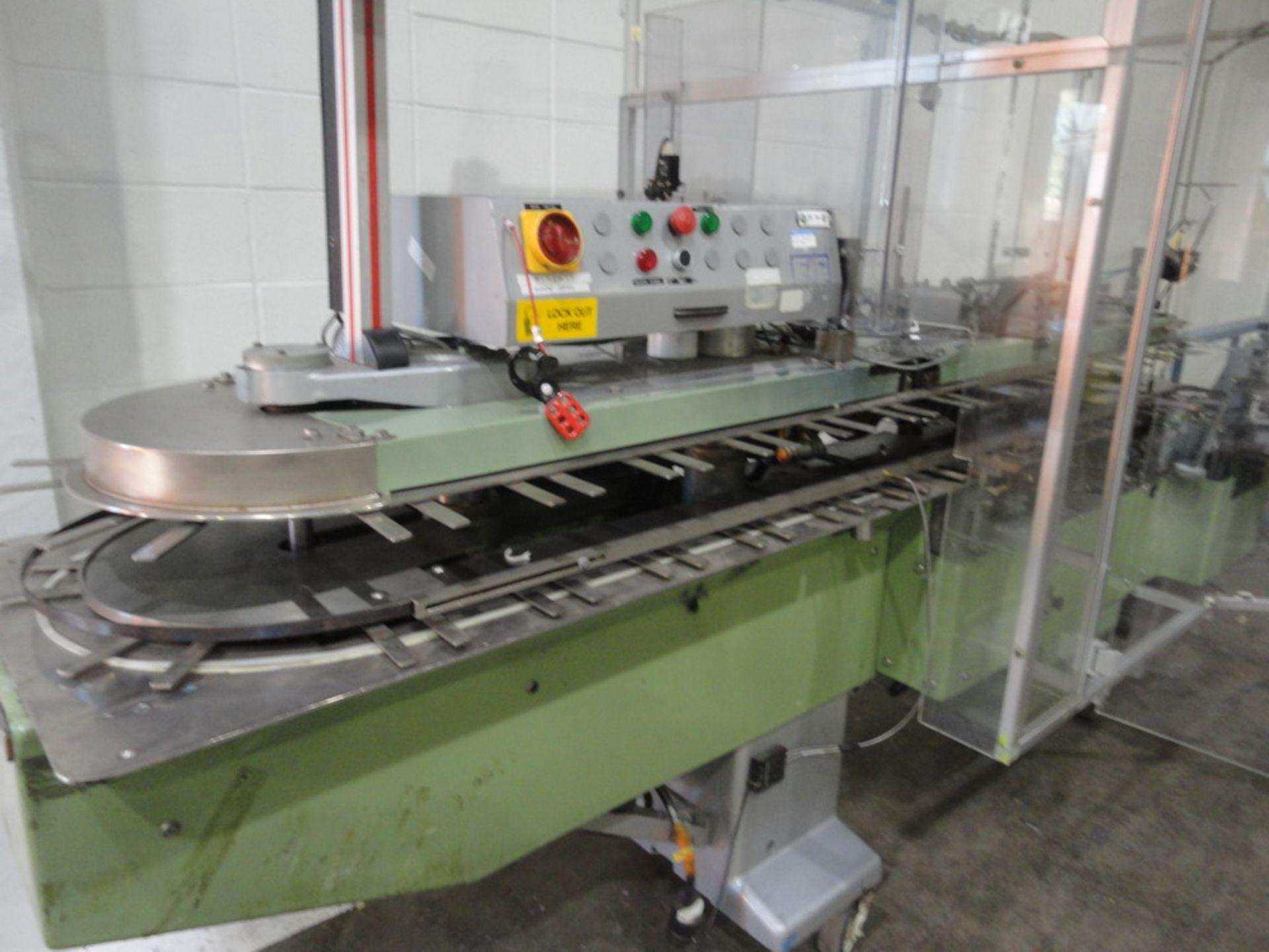 Lot 102 - CAM Automatic Vertical Cartoner, Model C13295-AV78-22
