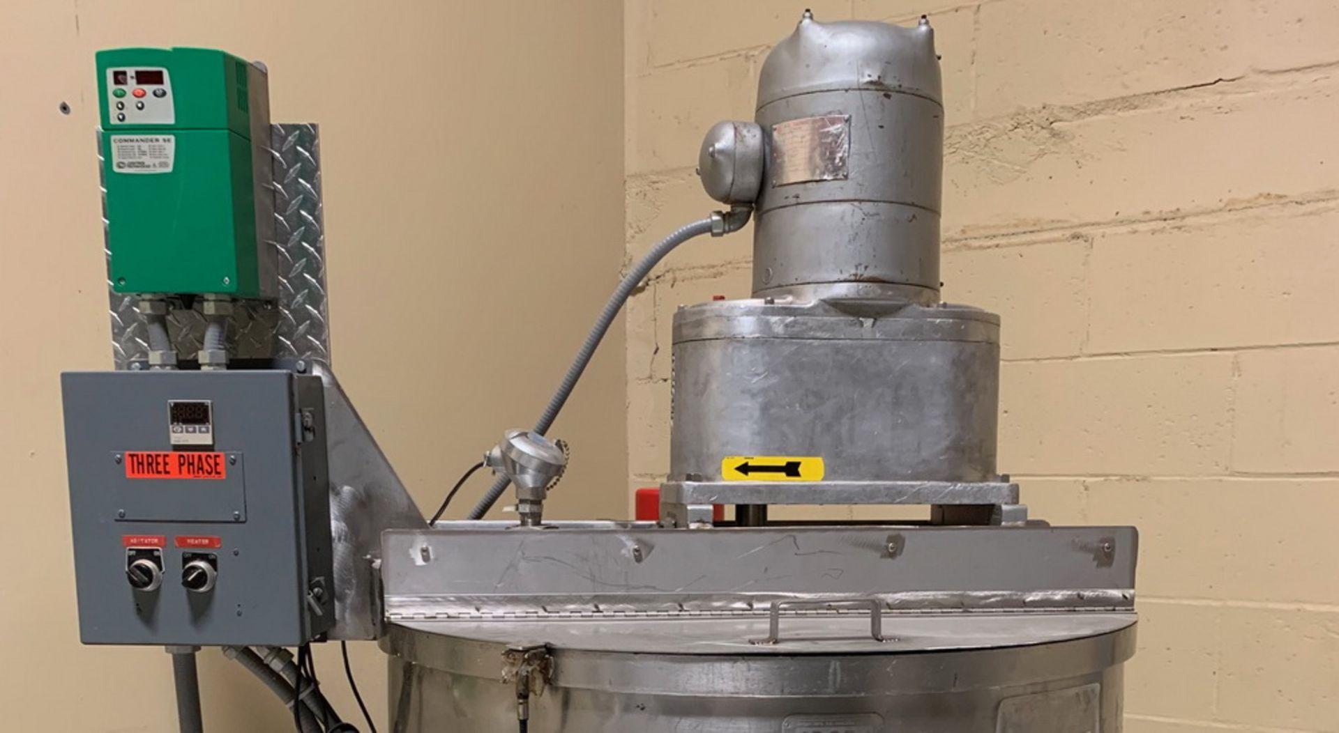 Lot 137 - Groen 100 gallon Single Motion Scraper Jacketed Kettle, Model RA 100 SP., S/N 43463 B