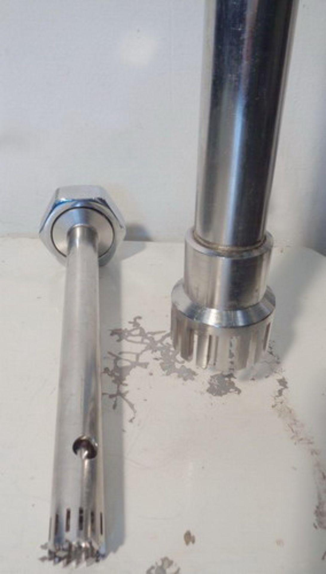 Lot 116 - Brinkman Laboratory Stainless Steel High Speed Homomixer, Model PT45/80, S/N 88348