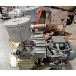 Orion Dual Head Dry type Vacuum Pump, Model CBX62-ZA-G1/KRX7A P-5