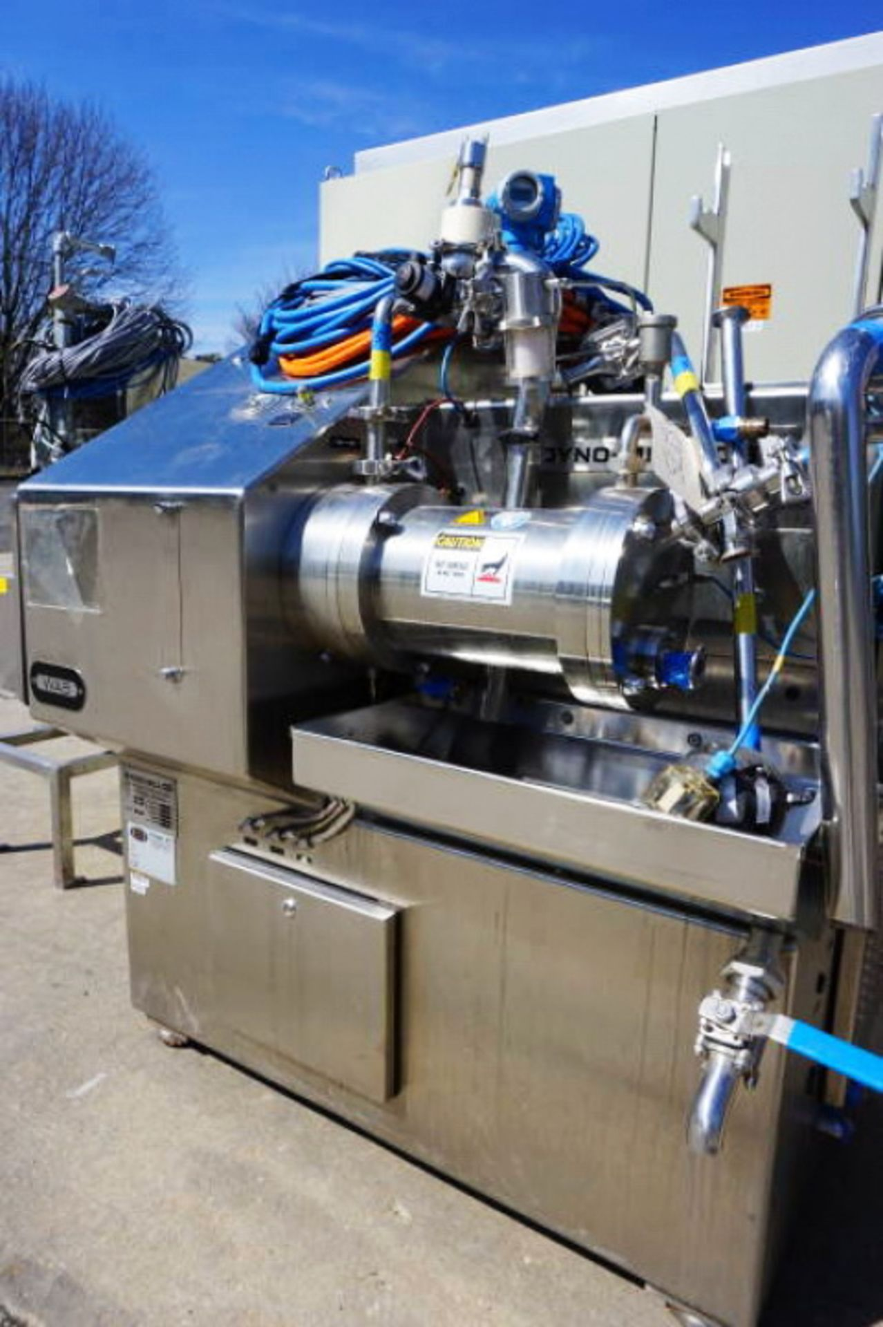 Lot 2 - Willy Bachofen (WAB) Horizontal Dyno-Mill Type KD6 Pulverizing/Media Mill, S/N 030811