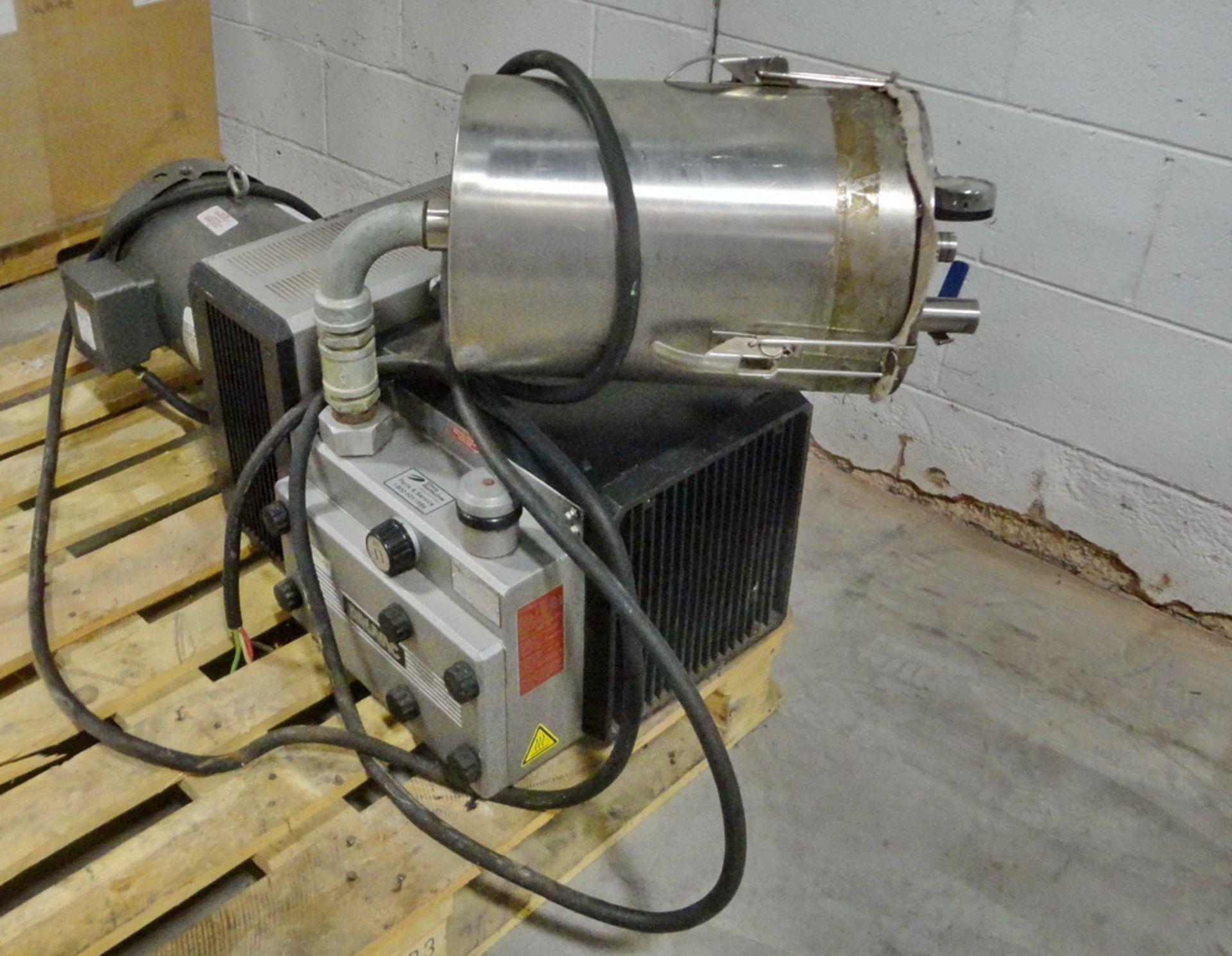 Lot 125 - Gardner Denver 5HP Vacuum Pump, Model NTA 140 C (37)
