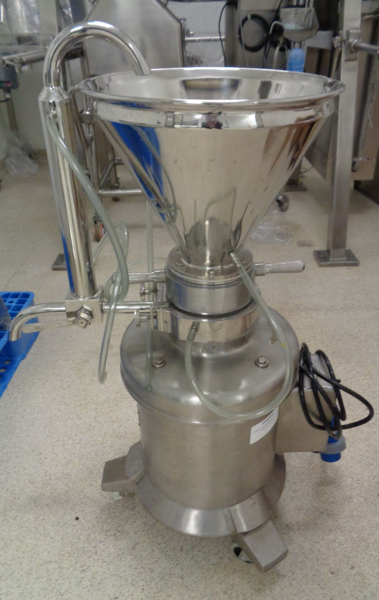 Lot 27 - Cadmach Stainless Steel Colloid Mill, Model CMCM 5, S/N 0/1556/07-08