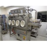Powder Systems Limited(PSL) Tray Dryer Stainless Steel Isolator, complete with 4 tray oven