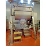 A&M Process 24 cu ft Stainless Steel Double Ribbon Blender, Model WG240V