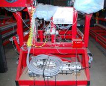 "Bulk Lot - Complete Pinnacle 154"" wide Production Line, manufacturing Flexitanks"
