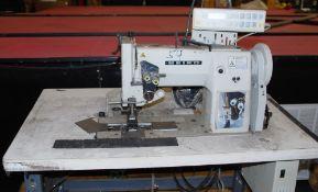 Seiki double needle stitch machine