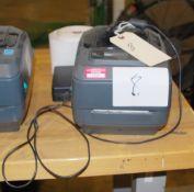 Zebra Label Printer, Model GX420t