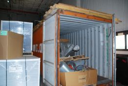 20' container (contents of container not included)