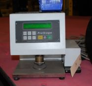 Thwing Albert Pro Gage Thickness Tester, S/N 46790